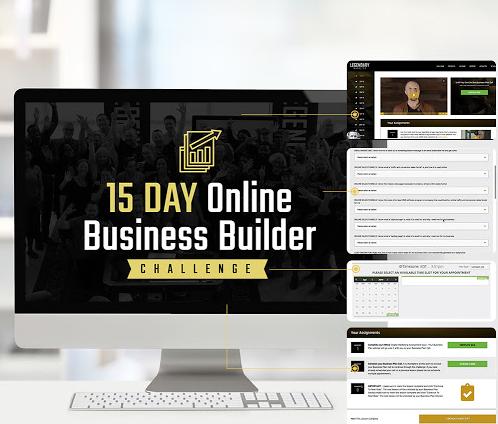15 Day Online Business Builder Challenge by Legendary Marketer