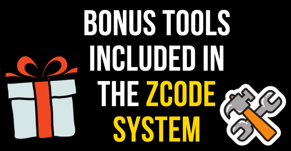 Banner for Bonus Tools Included In ZCode